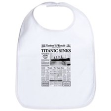 "London Herald ""Titanic SInks Bib"