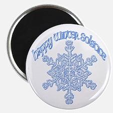 "Happy Winter Solstice 2.25"" Magnet (10 pack)"
