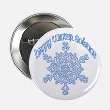 "Happy Winter Solstice 2.25"" Button"