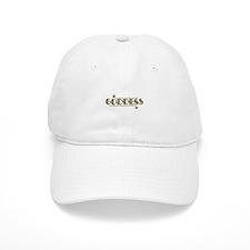 Goddess In Gold Baseball Baseball Cap