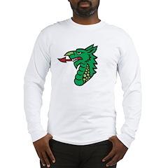 Midrealm Dragon Head Long Sleeve T-Shirt