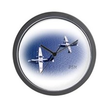 Navy P5M Seaplane Wall Clock