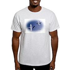 Navy P5M Seaplane Ash Grey T-Shirt