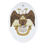 Scottish Rite Oval Ornament