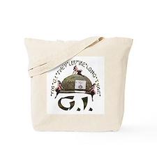 I'M G.I. THEY LUV ME LONG TIME Tote Bag
