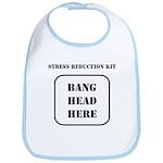 Bang Head Here Bib