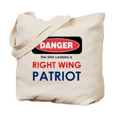 Right Wing Patriot Tote Bag