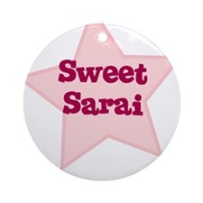 Sweet Sarai Ornament (Round)