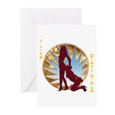 I Like Dirty Girls Greeting Cards (Pk of 10)