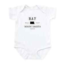 Ray, North Dakota (ND) Infant Bodysuit