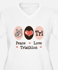 Peace Love Tri T-Shirt