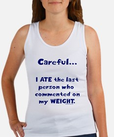 Weight comments Women's Tank Top