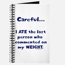 Weight comments Journal