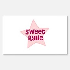 Sweet Rylie Rectangle Decal