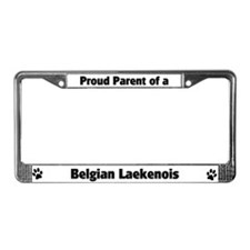 Belgian Laekenois  License Plate Frame