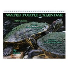 Water Turtle Wall Calendar
