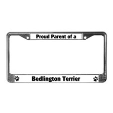Bedlington Terrier  License Plate Frame