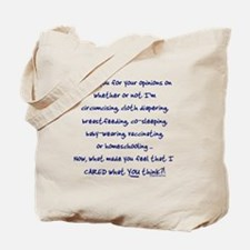 Cool Homeschooling Tote Bag