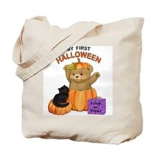 First Halloween Teddy Tote Bag