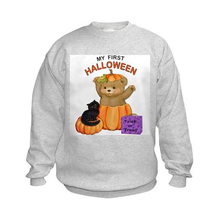 First Halloween Teddy Kids Sweatshirt