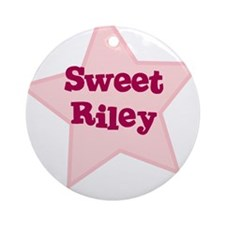 Sweet Riley Ornament (Round)