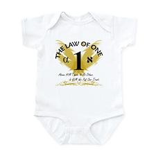 Infant Onesie Bodysuit with Law of One Design