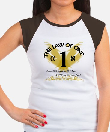 Women's Cap Sleeve T-Shirt with Law of One Design