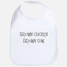 Brown Chicken Brown Cow - Bib