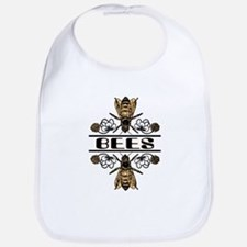 Bees With Clover Bib