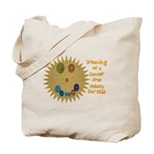 Cancer Free Kids (Galaxy) Tote Bag