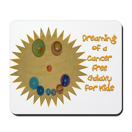 Cancer Free Kids (Galaxy) Mousepad