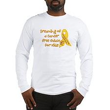 Cancer Free Kids (Galaxy) Long Sleeve T-Shirt