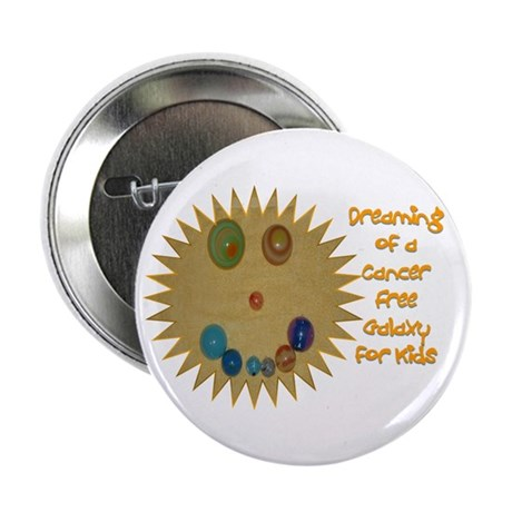 """Cancer Free Kids (Galaxy) 2.25"""" Button (10 pack)"""