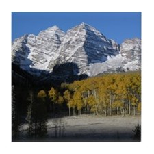 Maroon Bells Tile Coaster
