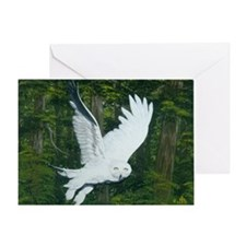 On Silent Wings: Greeting Card