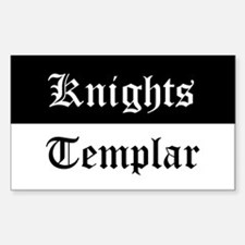 Knights Templar Beauceant Decal