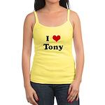 I Love Tony Jr. Spaghetti Tank