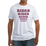 Rides Fitted T-Shirt
