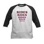 Rides Kids Baseball Jersey