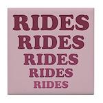 Rides Tile Coaster