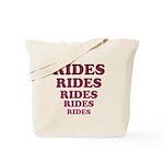 Rides Tote Bag