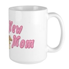 Diaper Teddy Girl - New Mom Mug