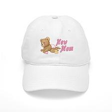 Diaper Teddy Girl - New Mom Cap
