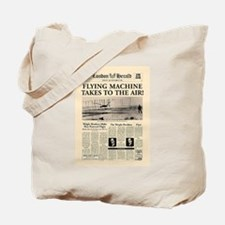 Wright Bros. Headline Tote Bag