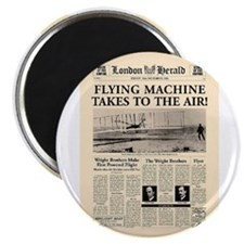 Wright Bros. Headline Magnet