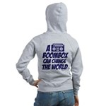 A Boombox Can Change the World Women's Zip Hoodie