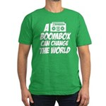 A Boombox Can Change the World Men's Fitted T-Shir