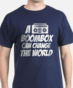 A Boombox Can Change the World T-Shirt