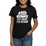 A Boombox Can Change the World Women's Dark T-Shir