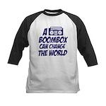 A Boombox Can Change the World Kids Baseball Jerse